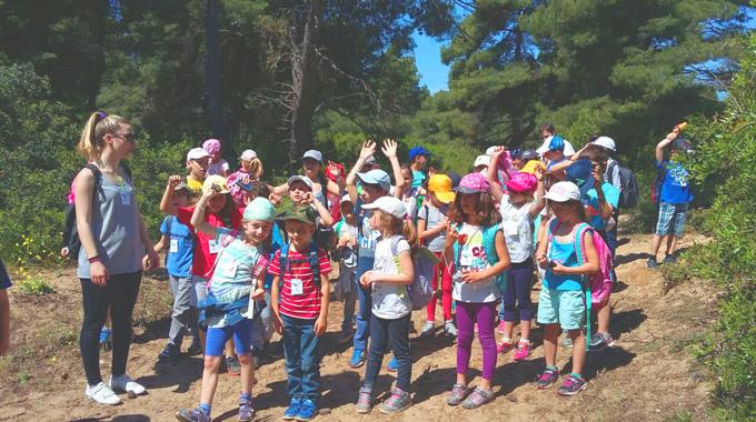 Ausflug Der Grundschule Nach Sani