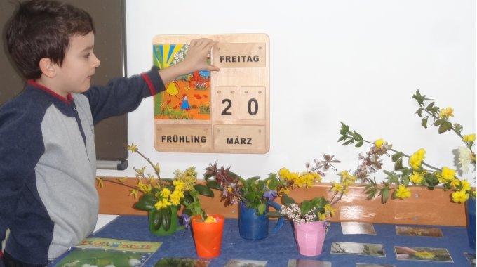 Frühling In Der Grundschule