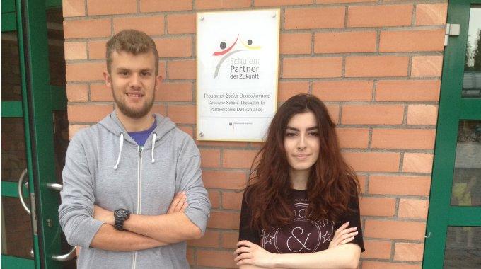 Zwei Stipendien des DAAD an unsere Schüler