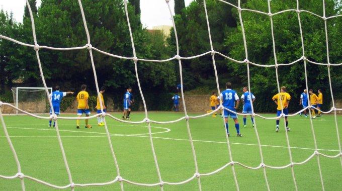 Fußballspiel Schüler - Lehrer 2015