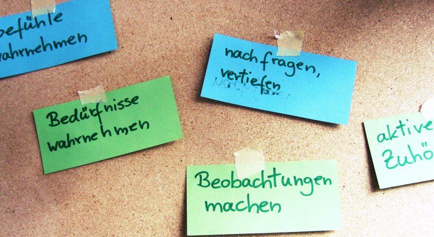 "Fortbildung ""Mediation"""
