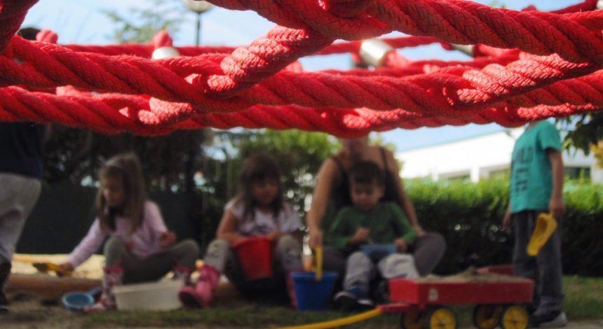 Umgestaltung Des Kindergarten-Außengeländes