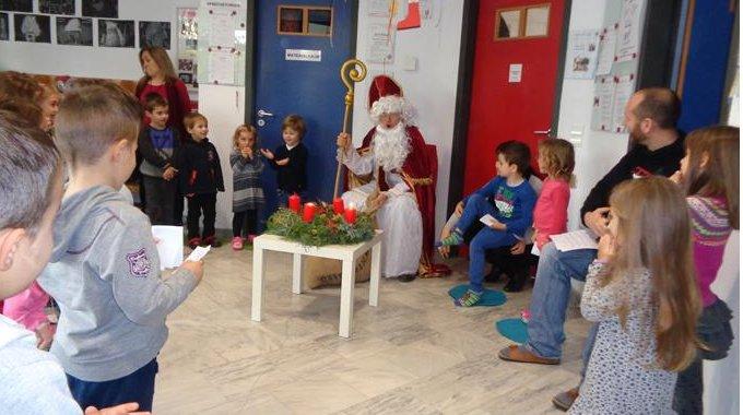 Nikolaus im Kindergarten 2016
