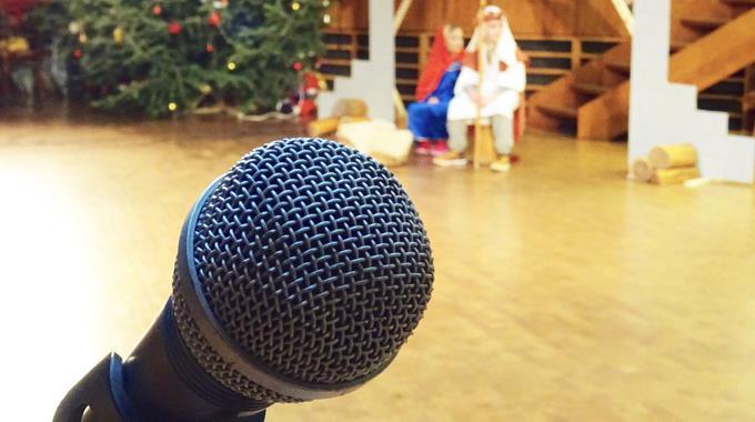 Weihnachtsfeier in der Grundschule 2016