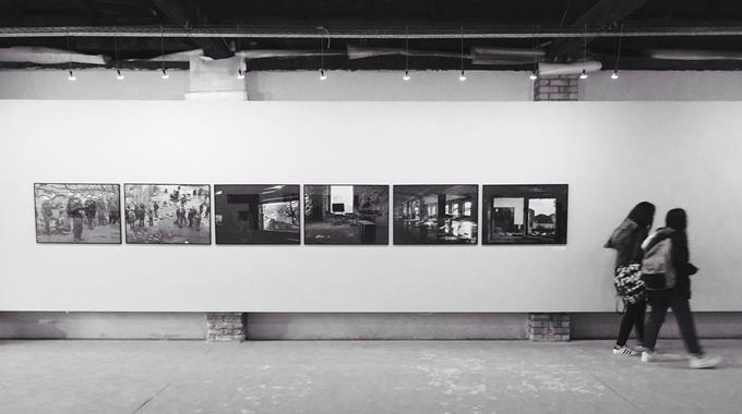 """Besuch Der Fotografieausstellung """"Gesichter Und Räume"""""""