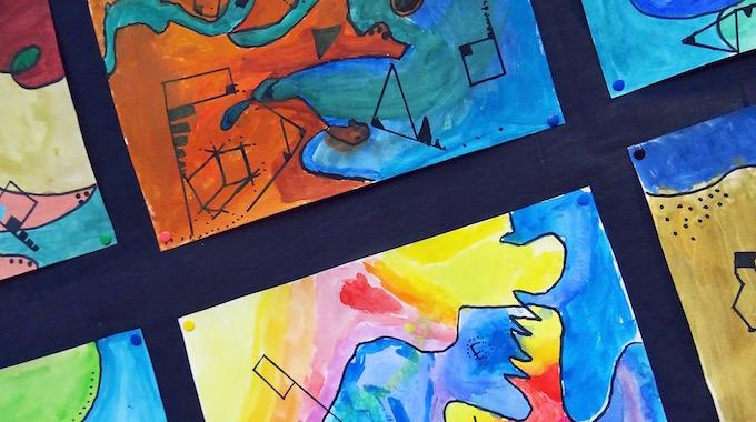 Wassily Kandinsky In Der Grundschule