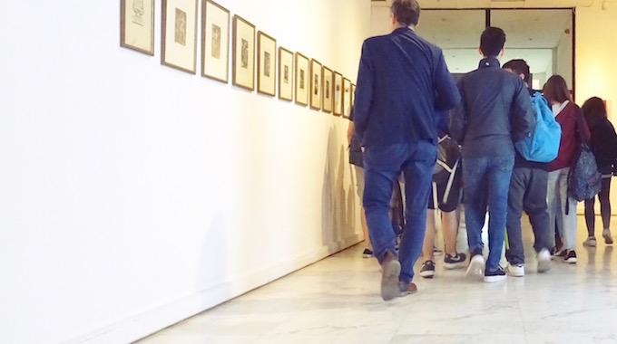 Besuch im Museum für zeitgenössische Kunst