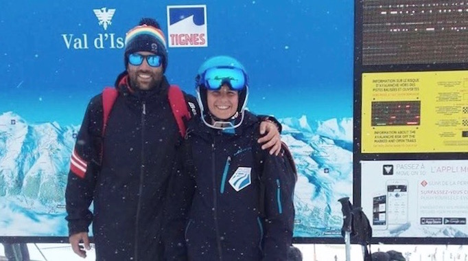 Paris Schmettau Ski-Weltcup