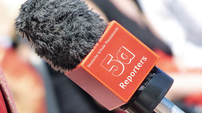 5a: Schüler- Reporter auf Trab!