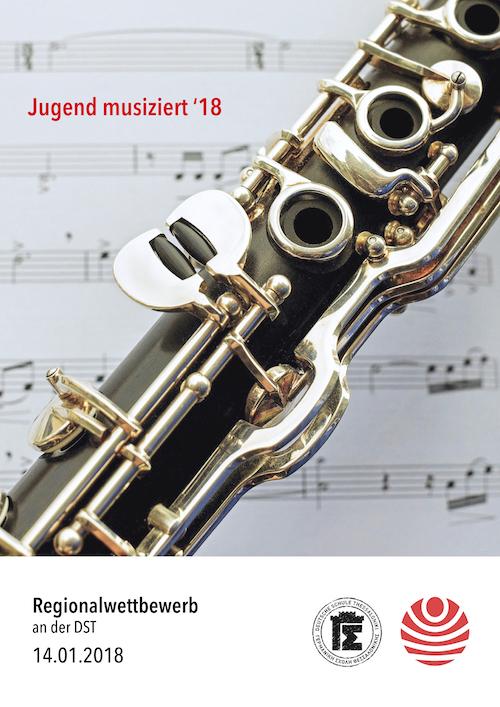 JUMU18 Regionalwettbewerb Poster