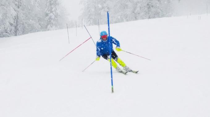 Skirennen für Ariadni Oettli