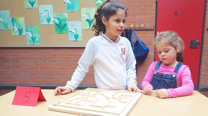Vorschule Besucht Die Grundschule