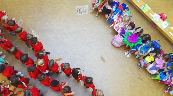 Einschulungsfeier In Der Grundschule