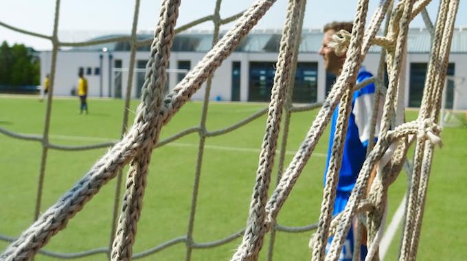 """Unentschieden im Fußballspiel """"Schüler vs. Lehrer"""""""