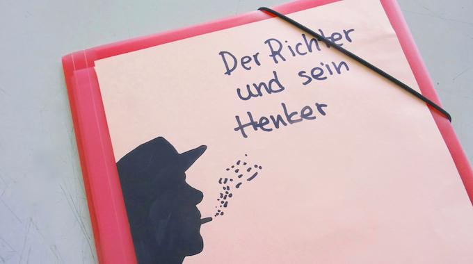 """Friedrich Dürrenmatt, """"Der Richter Und Sein Henker"""": Ein Portfolio"""