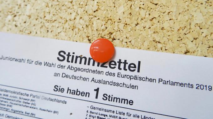 Juniorwahl Zur Europawahl 2019 – DST Hat Gewählt: Die Grünen Stärkste Kraft!