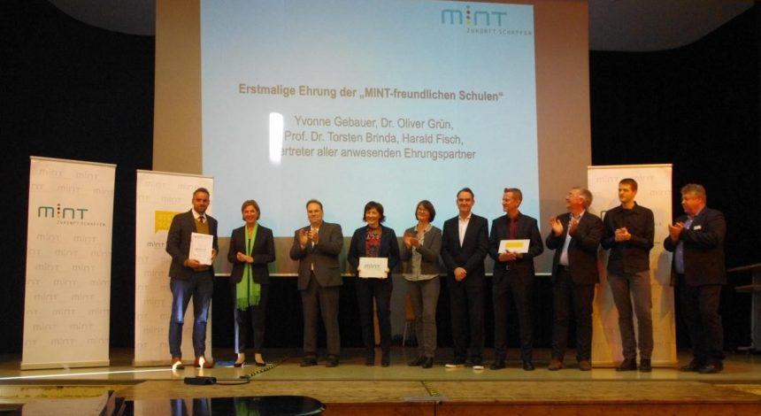 Auszeichnung Zur MINT-freundlichen Schule