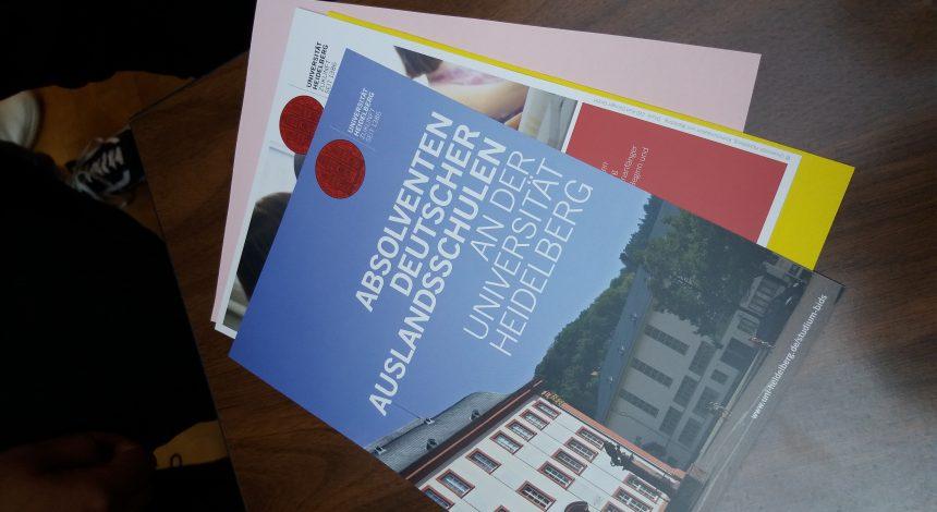Besuch Der Universität Heidelberg An Der DST