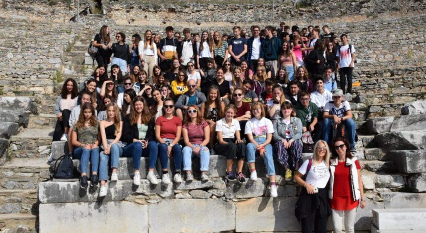 Επίσκεψη γερμανών μαθητών από το Euskirchen