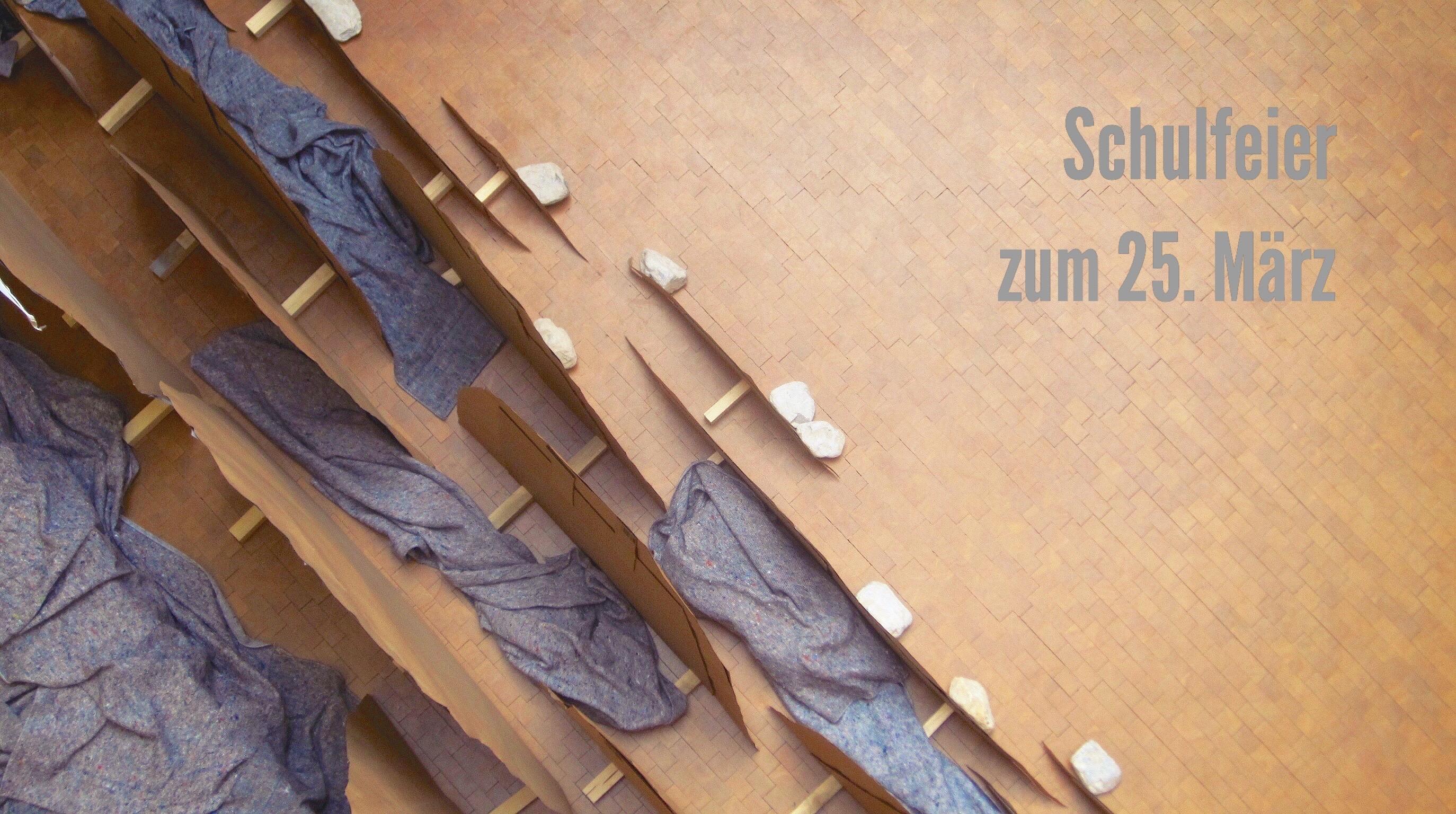 Schulfeier Zum 25.03.16