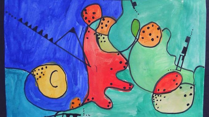 Kandinsky in der Grundschule