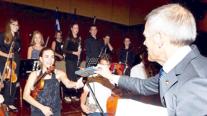 Schulorchester 3. Oktober