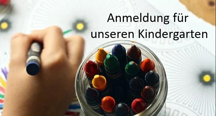 Anmeldung Für Den Kindergarten