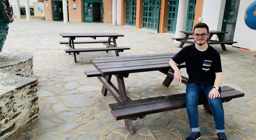 Μαθητής της ΓΣΘ λαμβάνει υποτροφία για σπουδές στη Γερμανία
