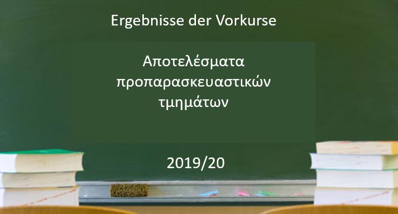Ergebnisse Der Vorkurse 2019/20