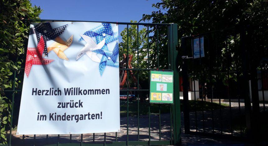 Willkommen Zurück Im Kindergarten Und DANKE!