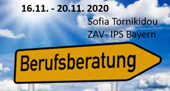 Studien- Und Berufsberatungswoche Mit Sofia Tornikidou