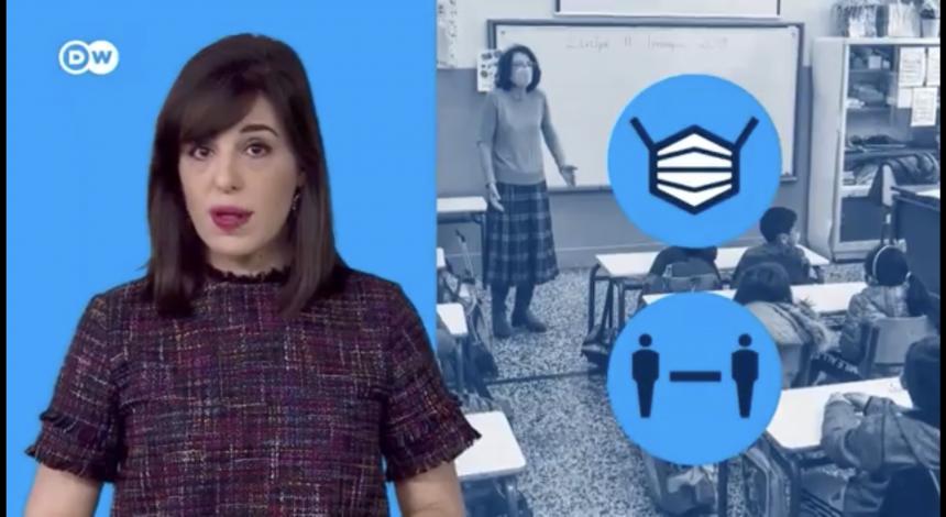 Interview Der Deutschen Welle An Der DST über Die Öffnung Der Schulen In Zeiten Von Corona