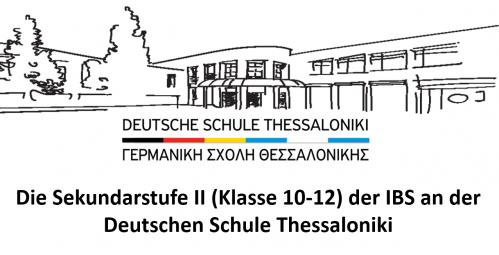 Die Sekundarstufe II (Klasse 10-12) Der IBS An Der DST