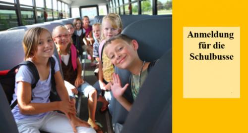 Anmeldung Und Busrouten Schulbusse 2021_22